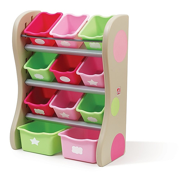 Step2 fun time room organizer pink for Room organizer online